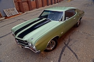 A 1970 Chevrolet Chevelle Drag Car, Handed Down From Teacher to Student
