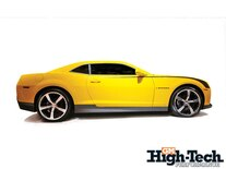 0903gmhtp_02_z How_to_custom_order_a_2010_chevy_camaro 2010_yellow_camaro_side_view