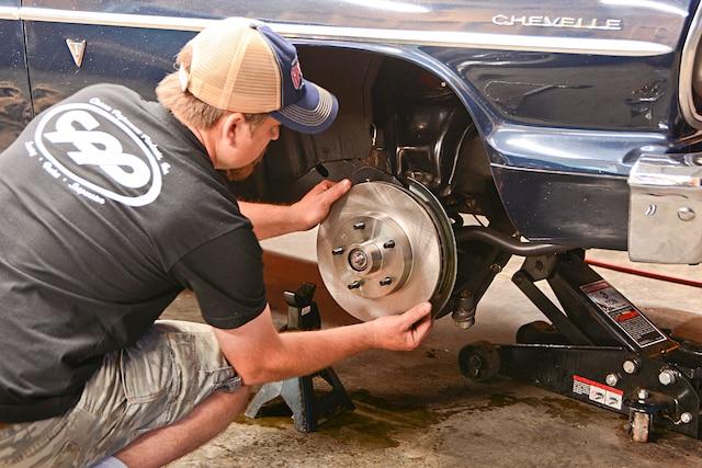001 Chevelle Cpp Disc Brake Upgrade