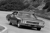 001 Archive 1967 Chevrolet Impala Ss Front Three Quarter