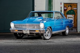 No-Frills 1966 Chevy Nova Hauls on the Street and Strip