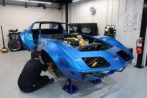 001 1969 Corvette Detroit Speed Pro Touring Blue LS DSE