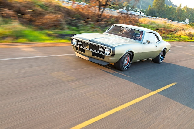 001 1968 Patina Pro Touring Camaro