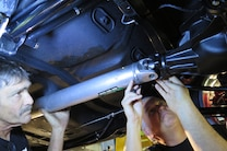 009 Week To Wicked Day 5 Chevelle Driveshaft