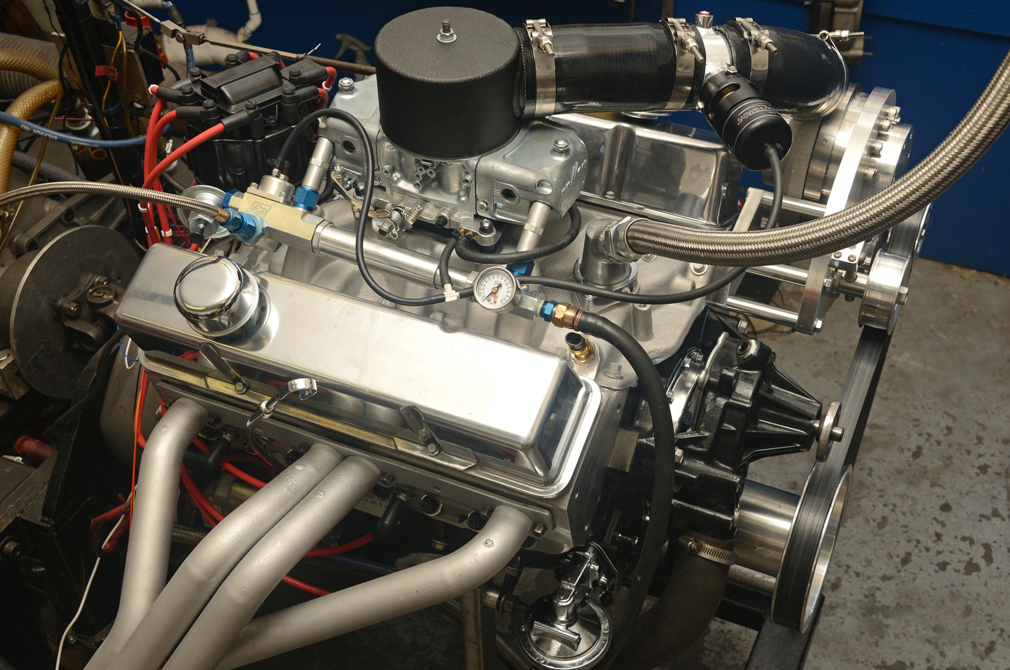 1 Small Block Engine Torqstorm Supercharger