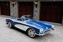 2 1959 Chevy Corvette Front View