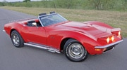 Corp 0905 Pl 1971 Chevrolet Corvette Passenger Side View