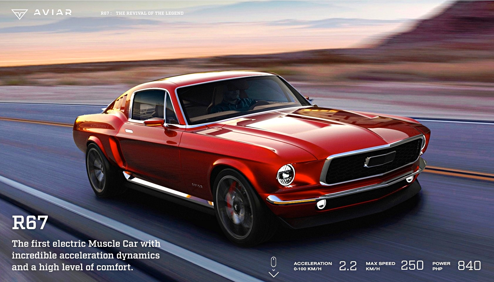 Russian 1967 Mustang Clone Rhymes with Caviar Goes Like Stink