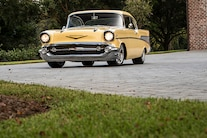 001 Supercharged 1957 Chevrolet Bel Air