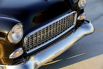 005 1955 Chevy Woodys Giveaway Raffle TMI Black Red LS Holley