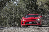 Edelbrock Supercharged 2016 Chevy Camaro Ss Front