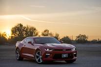 Edelbrock Supercharged 2016 Chevy Camaro Ss Front Three Quarter