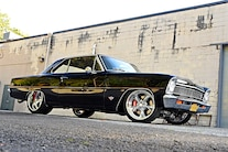 004 1967 Nova Black LS Wilwood Pro Touring G Machine Chassisworks