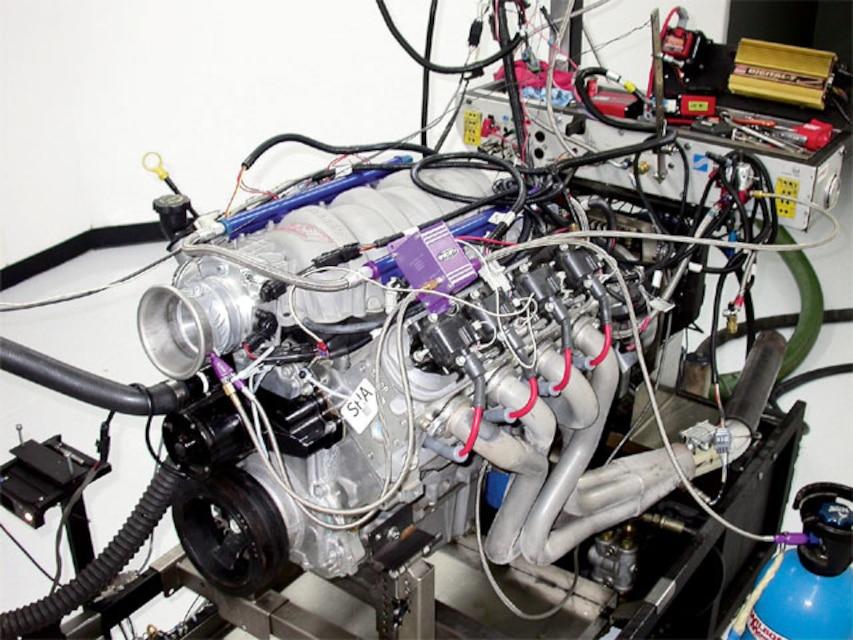 Cam-Only LS1 Nitrous Engine - Vette Magazine