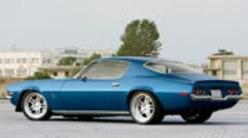 Sucp 0902 01 Pl 1970 Chevy Camaro Rear Side Shot