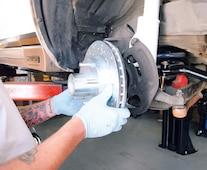 Camp 0902 11 Third Generation Camaro Brake Upgrade Rotor Install