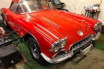 01 1960 Corvette Big Block Swap Barn Find
