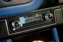 050 1970 Camaro DSE Pro Touring White Blue LS Supercharged Blower Wilwood