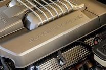 059 1970 Camaro DSE Pro Touring White Blue LS Supercharged Blower Wilwood