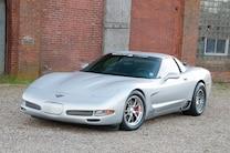 2 2001 Chevrolet Corvette Front Side View