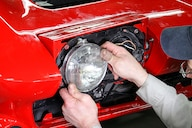 01 c2 corvette electric concealed headlamps