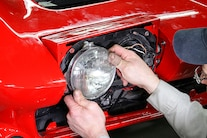 01 C2 Corvette Electric Concealed Headlamps