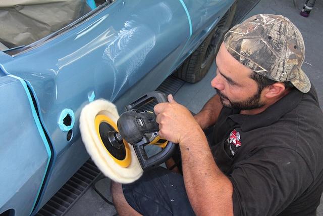 01 Corvette C1 C2 C3 Paint Rubout
