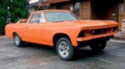 0906chp 02 Pl 1966 Chevy El Camino Front View