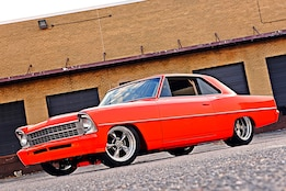 Father-and-Son–Built 1967 Nova Brawler for the Street!