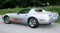 Corp 0612 Pl 1996 Chevy Corvette Collector Edition Left Side View