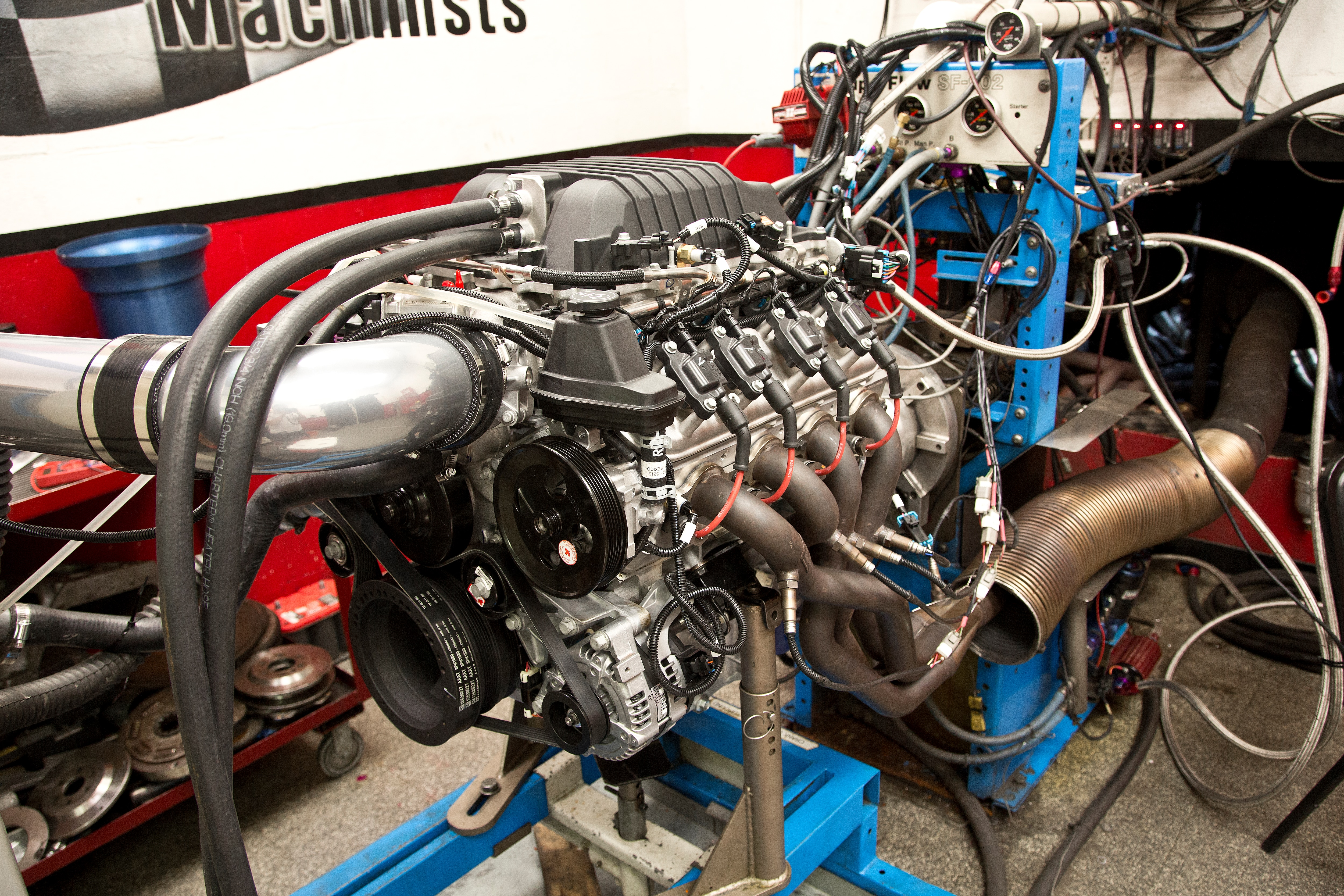 1 Chevrolet Performance Lsa Small Block