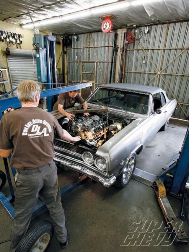 Chevy Chevelle LS Engine Swap - Super Chevy Magazine