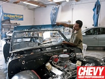 0907chp_05_z 1964_chevy_chevelle_windshield_replacement Equal_clearance