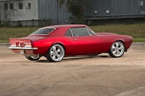 1967 Camaro Red Side View