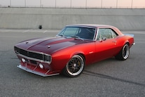 1967 Camaro Red Side Front
