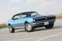 1967 Camaro Blue Headlights