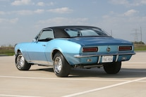 1967 Blue Camaro Taillights