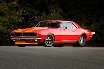 1967 Chevrolet Camaro Red Side
