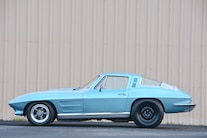 1964 Chevrolet Corvette Side View
