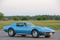 1971 Chevrolet Corvette Front Side