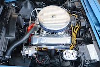 1971 Chevrolet Corvette Engine Bay