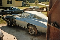 1971 Chevrolet Corvette Side View