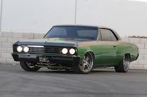 1967 Chevrolet Chevelle Front View Side