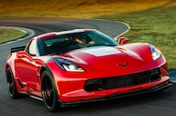 2017 Corvette Grand Sport Red Front View