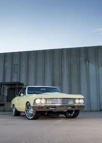 1966 Chevy Chevelle Front View