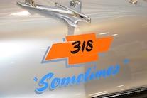 1956 Vintage Chevy Race Car 318 87 04