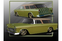 1955 Chevy Nomad Wagon Gonemad Ccs Metal Fabrication Custom 05