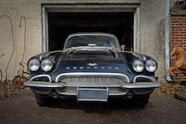 014 Barn Find 1961 Corvette Black