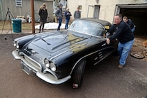 017 Barn Find 1961 Corvette Black