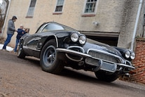015 Barn Find 1961 Corvette Black